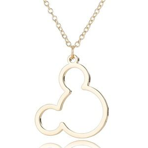 Jewelry - Gold Mickey Head Necklace